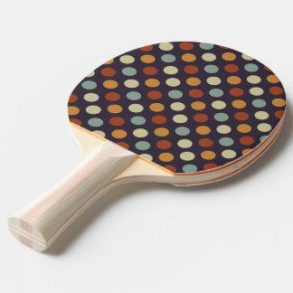 Retro Tupfen Tischtennis Schläger