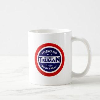 Retro Vintager Kitsch Demokraten vorwärts mit Trum Kaffee Tassen