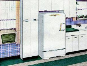 Retro Kühlschrank Ch : Retro kühlschrank postkarten zazzle.ch