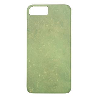 Retro Vintages elegantes grünes Normallack-Muster iPhone 8 Plus/7 Plus Hülle