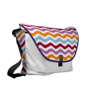 Retro Wellen der schönen Tasche Kurier Tasche