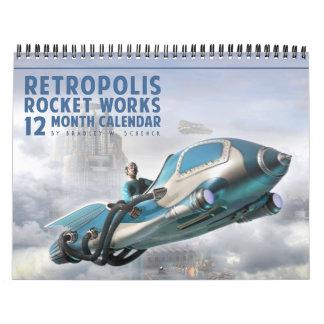 Retropolis Rocket bearbeitet Kalender