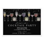 Rétros boissons et invitation de cocktail de bulle