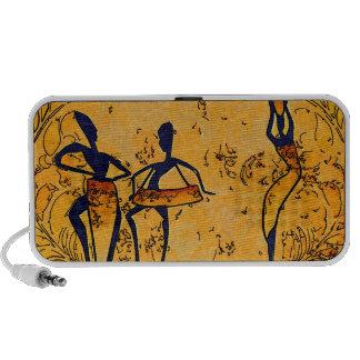 Rétros cadeaux vintages de style de l'Afrique Haut-parleur Portable