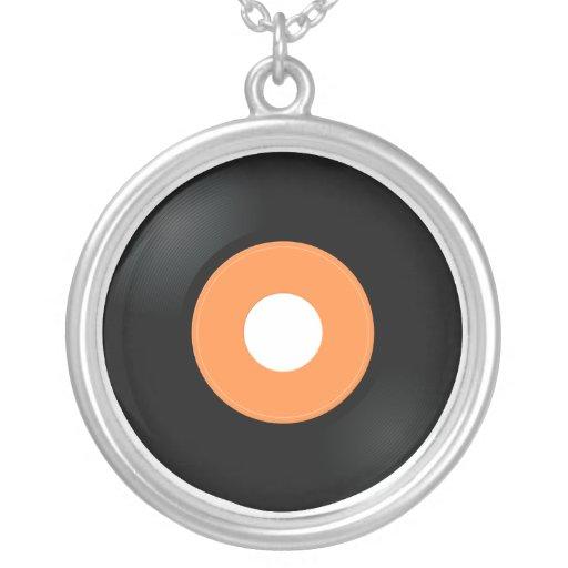 rétros collier record du vinyle 45