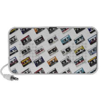 Rétros enregistreurs à cassettes de musique haut-parleur mobile