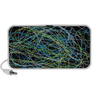 Rétros haut-parleurs de Mp3/IPod des courants 1