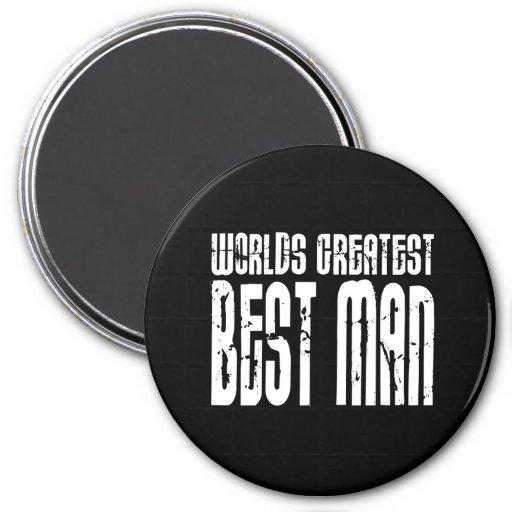 Rétros meilleurs hommes frais : Plus grand meilleu Magnets