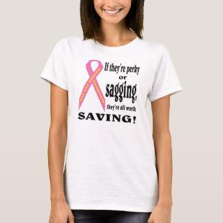 Retten Sie alle Brust. Brustkrebs T-Shirt
