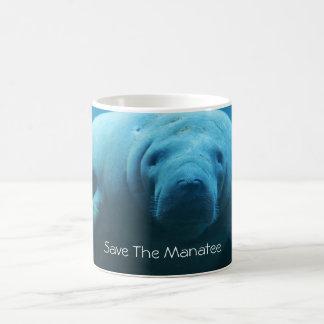 Retten Sie das Manatis Kaffeetasse