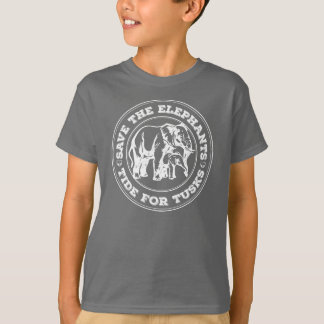 Retten Sie den Elefanten Kinder Shirt