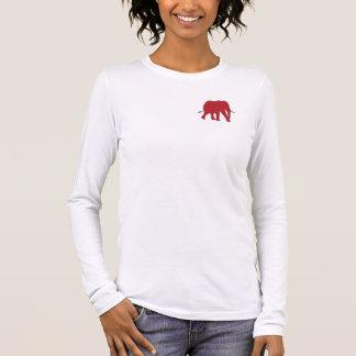 Retten Sie den Elefanten lange Hülse Langarm T-Shirt