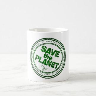 retten Sie den Planeten Kaffeetasse