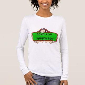 retten Sie den Regenwald Langarm T-Shirt