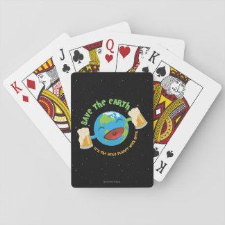 Retten Sie die Erde Spielkarten