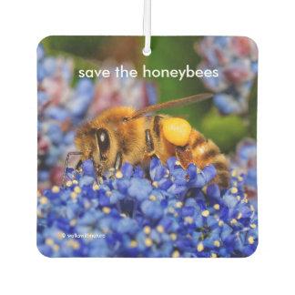 Retten Sie die Honigbienen, die Lufterfrischer