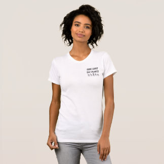 RETTEN Sie die LEBEN ESSEN PFLANZEN T - Shirt