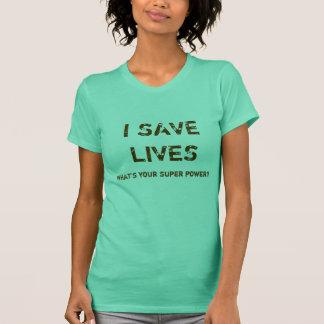 Retten Sie die Leben T-Shirt