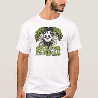 Retten Sie die Pandas T-Shirt