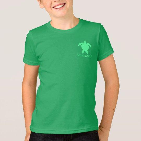 Retten Sie die Seeschildkröte T-Shirt