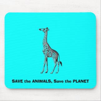 Retten Sie die Tiere Mauspad