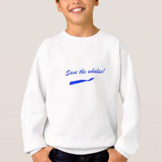 Retten Sie die Wale! Sweatshirt