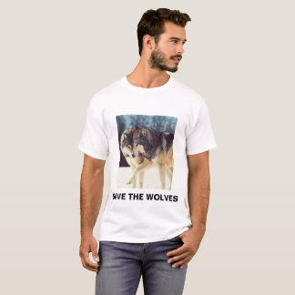 RETTEN SIE DIE WÖLFE T-Shirt