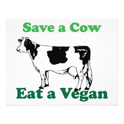 Retten Sie eine Kuh