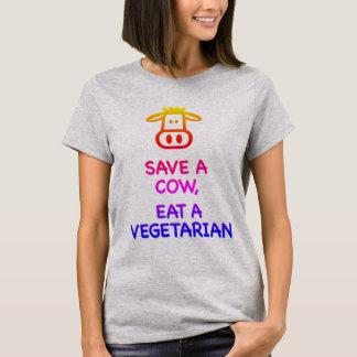 Retten Sie eine Kuh T-Shirt