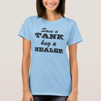 Retten Sie einen Behälter, umarmen Sie einen T-Shirt