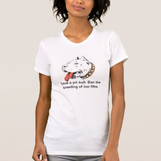 Retten Sie einen Grubenstier: Verbieten Sie die T-Shirt
