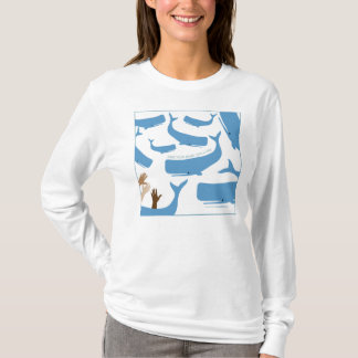Retten Sie einen Wal T-Shirt