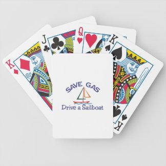 Retten Sie Gas Pokerkarten
