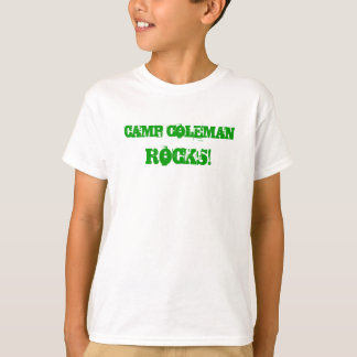 Retten Sie Lager Coleman Kindern t T-Shirt