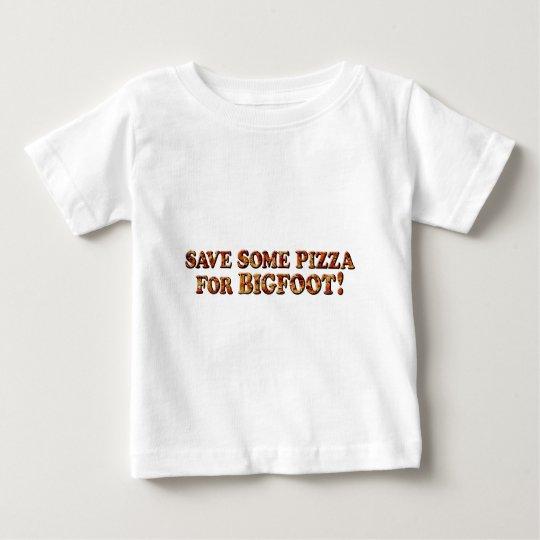 Retten Sie Pizza für BIGFOOT - NUR Kleidung Baby T-shirt