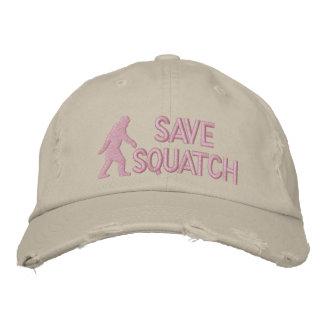 Retten Sie squatch * großes logo* Bestickte Kappen