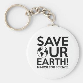 Retten Sie unsere Erde Schlüsselanhänger
