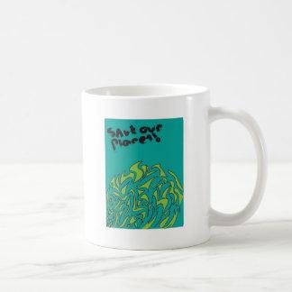 Retten Sie unseren Planeten Kaffeetasse