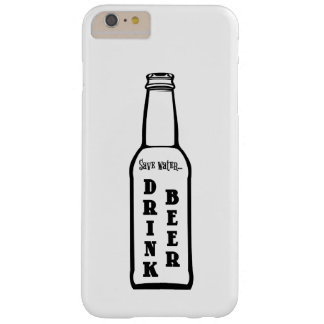 Retten Sie Wasser-Getränk-Bier-Apple iPhone Fall Barely There iPhone 6 Plus Hülle