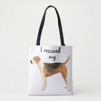 Rettungamerikanischer Foxhound Tasche