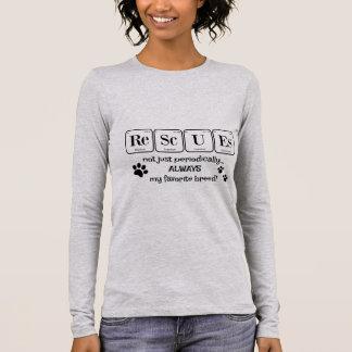 RETTUNGEN, meine Lieblingszucht (Periodensystem) Langarm T-Shirt