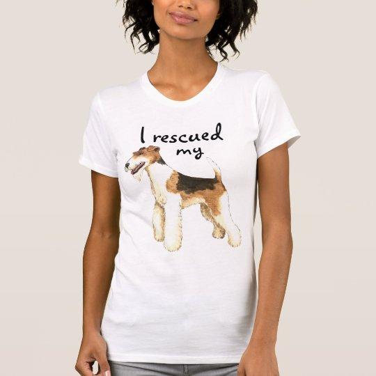 Rettungs-Draht-Foxterrier T-Shirt