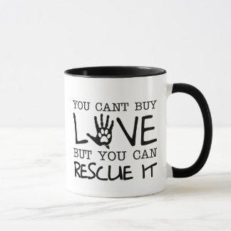 Rettungs-Liebe-Tassen Tasse