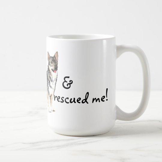 Rettungs-Schwede Vallhund Kaffeetasse