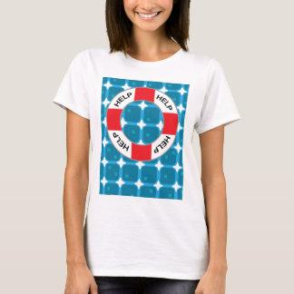 Rettungsgürtel-Lebensretter-Vektor T-Shirt