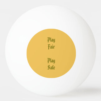 Rettungsspiele Tischtennis Ball