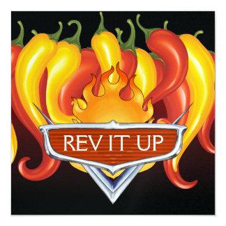 Rev It Up ! - BBQ - Invitation de barbecue
