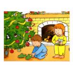 Réveillon de Noël Cartes Postales