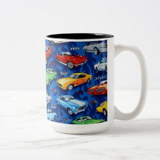 RevItUp-Muskel Auto Thema-Kaffee Tasse