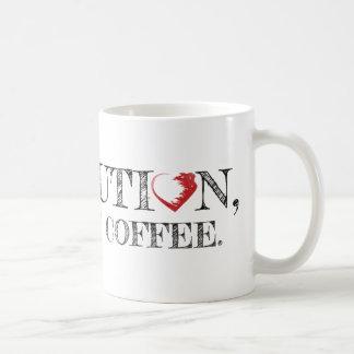 Revolution, aber erste Kaffee-Tasse Kaffeetasse